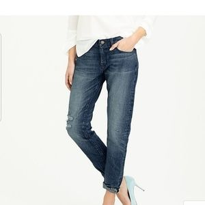 J. Crew Slim Selvedge Broken-in Boyfriend Jean